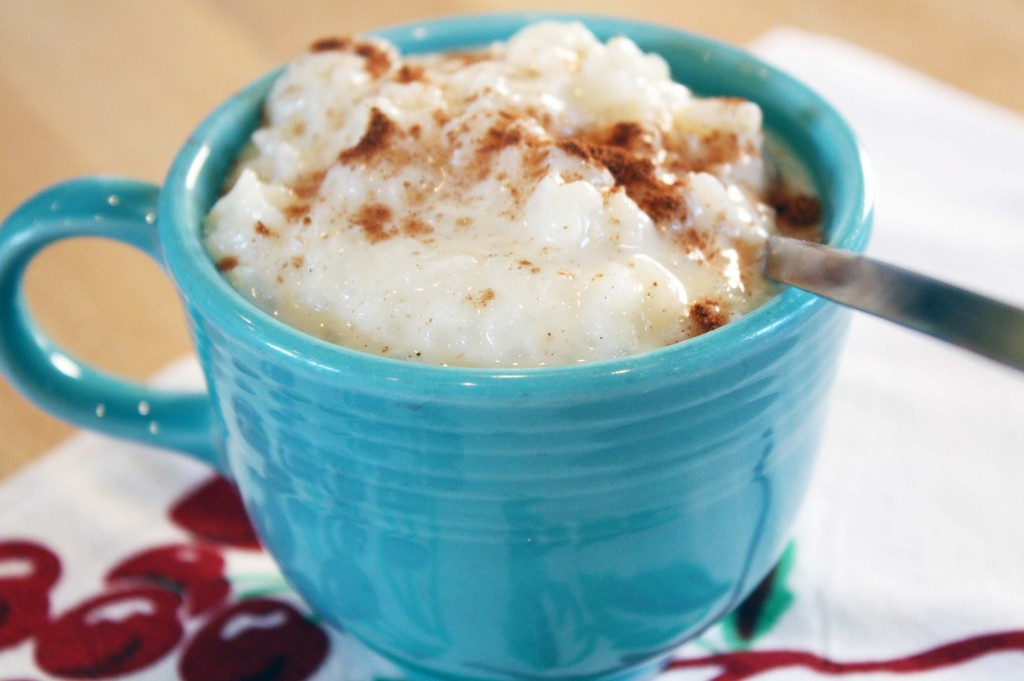 Old Fashioned Creamy Rice Pudding - Julie's Kitchenette