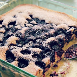Quick & Easy Berry Cobbler