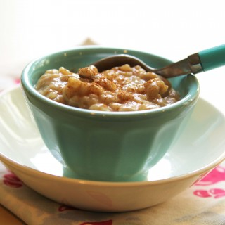 Your New Favorite Fall Dessert! Pumpkin Spice Rice Pudding (gluten-free + vegan)