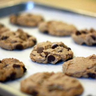 The Best Chocolate Chip Cookies (gluten-free & vegan)