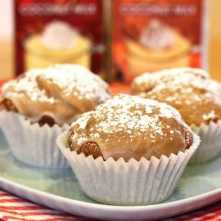 Gluten-Free & Vegan Pumpkin Nog Muffins