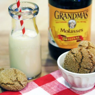 Gluten-Free Ginger Molasses Cookies & Contest