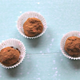 Rich Chocolate Truffles For Valentine's Day (gluten-free & vegan)