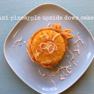Gluten-free + vegan pineapple upside down cakes | Julie's Kitchenette