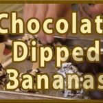 Frozen Chocolate Dipped Banana