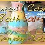 Colored Bath Salts with Janice Cox