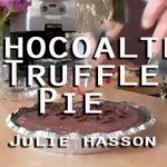 Chocolate Espresso Truffle Pie