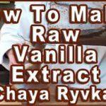 Raw Vanilla Extract