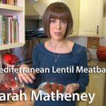 Mediterranean Lentil Meatballs