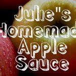Home Made Apple Sauce