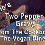 Two Pepper Golden Gravy Vegan Diner