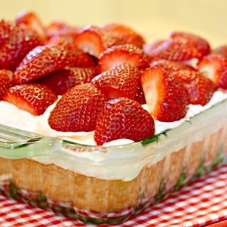 Strawberry Shortcake (gluten-free & vegan)