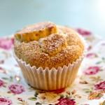 Gluten-Free Peach Muffin | Julie's Kitchenette
