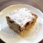 Cranberry Pear Spice Cake (gluten-free + vegan)