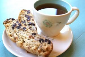 Gluten-Free + Vegan Biscotti | Julie's Kitchenette