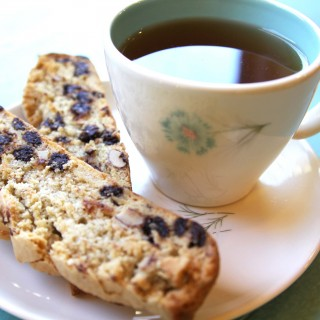 Gluten-Free + Vegan Biscotti | Julie's Kitchenette