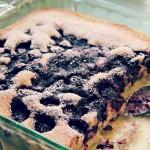 Blackberry Cobbler (gluten-free & vegan)