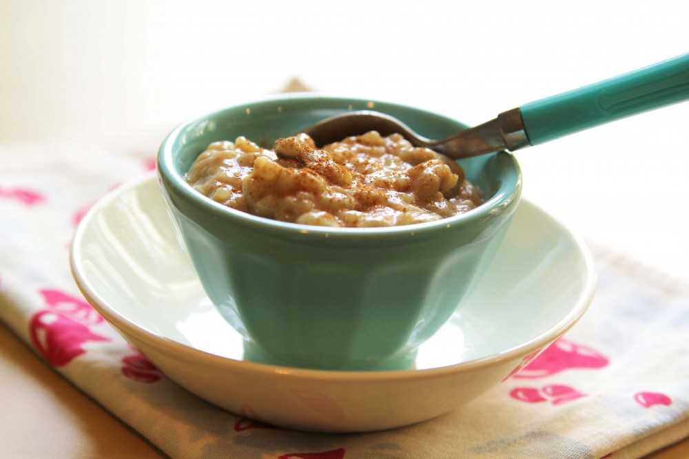 Pumpkin Spice Rice Pudding, gluten-free + vegan | juliehasson.com