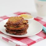 Best Ever Potato Latkes, Which Also Happen To Be Gluten-Free + Vegan!