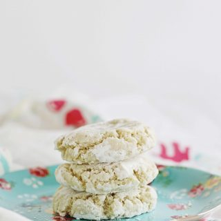 gluten-free, vegan. lemon, cookies