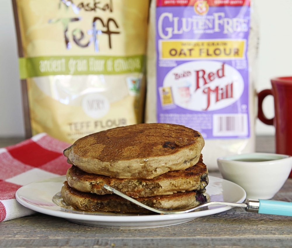 gluten-free, vegan, whole grain, light and fluffy, pancakes
