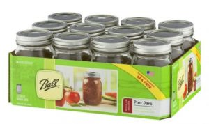 A photo of ball-mason-jars