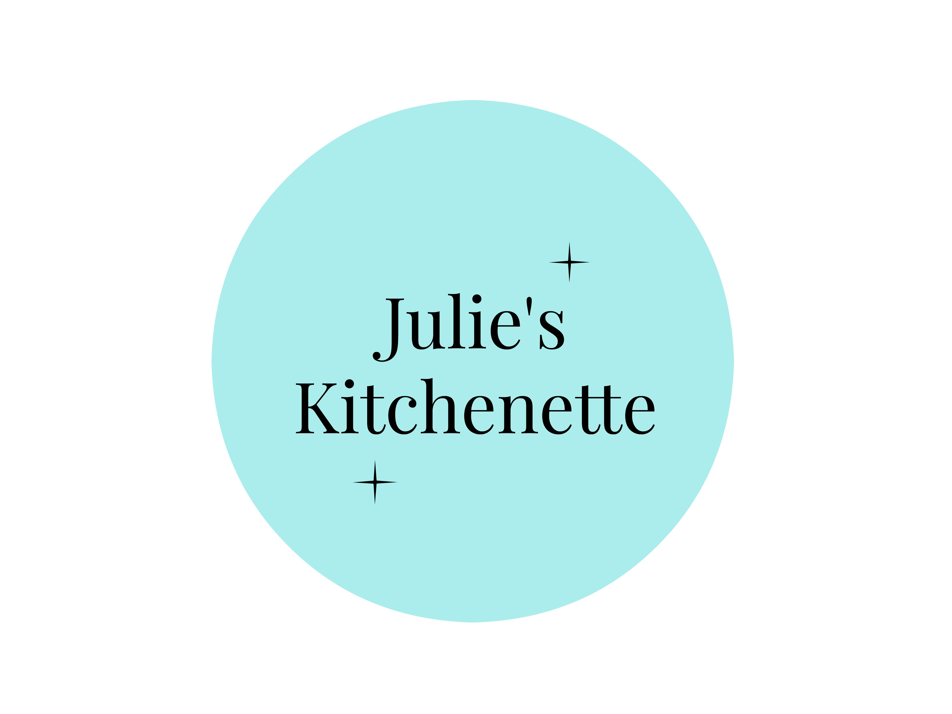 Julie's Kitchenette on YouTube