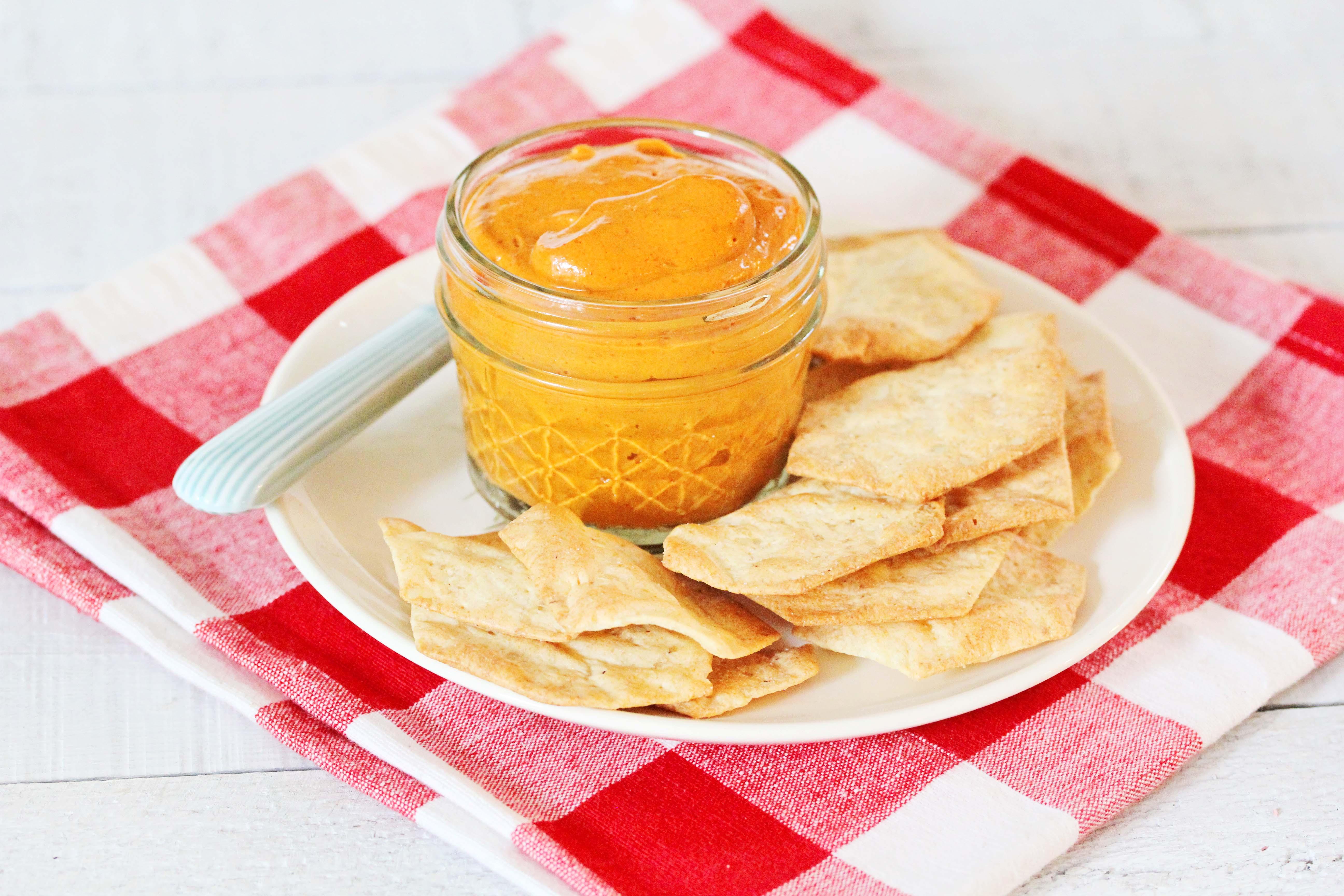A Photo Of Gluten-Free + Vegan Chipotle Cream Sauce | Julie's Kitchenette