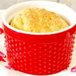 Air Fryer Sweet Rosemary Cornbread With Agave Butter