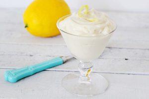 A Photo Of Easy Lemon Mousse, Gluten-Free + Vegan | Julie's Kitchenette