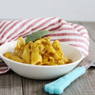 Gluten-Free + Vegan Pumpkin Sage Pasta
