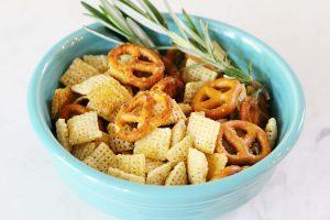 Homemade Gluten-Free + Vegan Snack Mix | Julie's Kitchenette