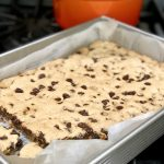 The Best Gluten-Free Chocolate Chip Cookie Bars (vegan too!)