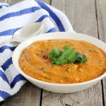 Thai Curry Red Lentil Soup