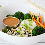 Easy Bowls and 5-Minute Perfect Peanut Sauce