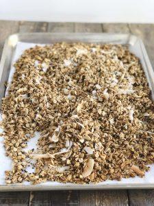 Maple Coconut Quinoa Granola | Julie's Kitchenette