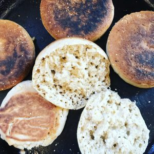 Gluten-Free English Muffins | Julie's Kitchenette