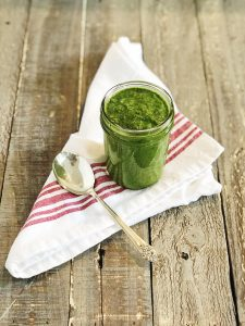 How To Make Salsa Verde For Grilling | Julie's Kitchenette