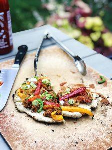 Amazing Gluten-Free Pizza Dough | Julie's Kitchenette