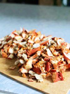 Lobster Mushrooms | Julie's Kitchenette
