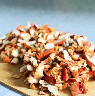Lobster Mushrooms | Julie's Kitchenette