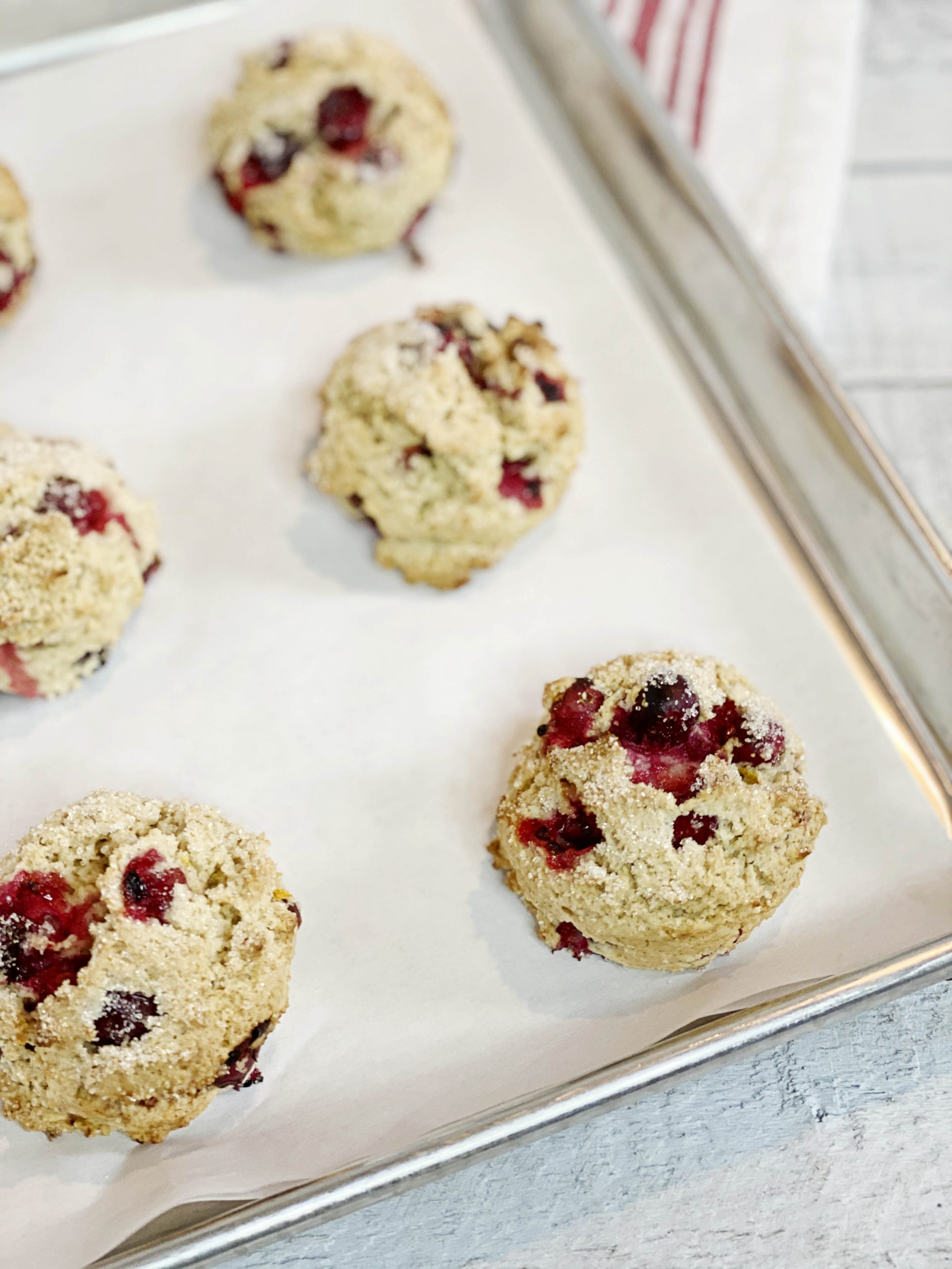Cranberry Scones | Julie's Kitchenette