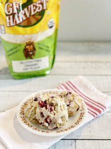 Gluten-Free Cranberry Scones | Julie's Kitchenette