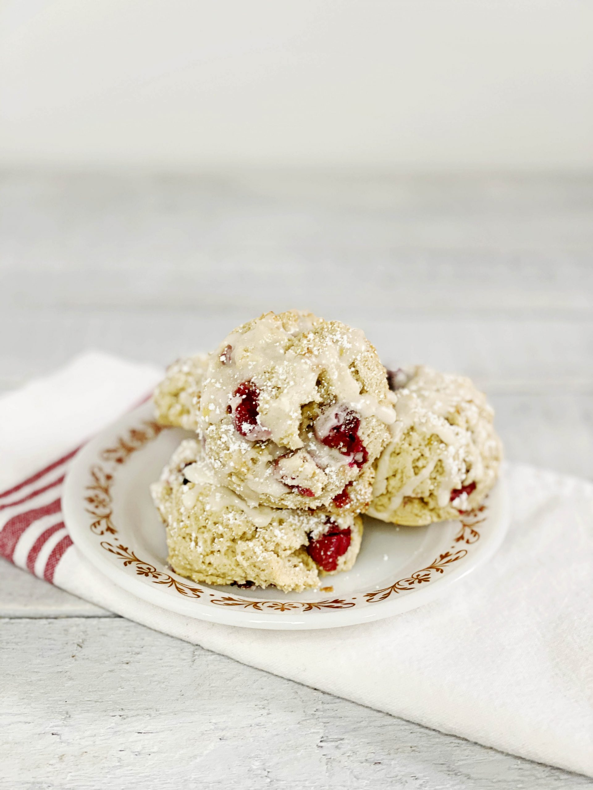Gluten-Free + Vegan Cranberry Scones | Julie's Kitchenette