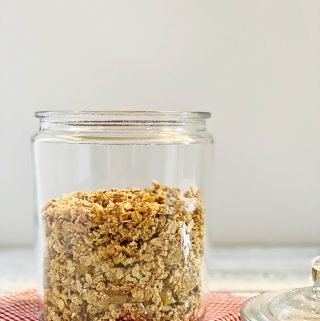Lemon Rosemary Granola | Julie's Kitchenette