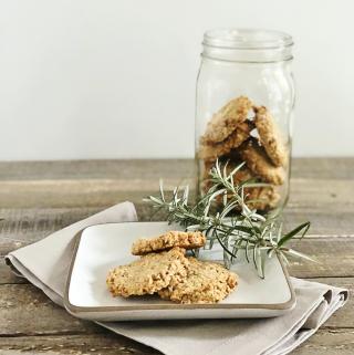 Gluten-Free Vegan Oatcakes | Julie's Kitchenette