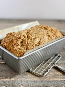 GF + Vegan Farmhouse Bread | Julie's Kitchenette
